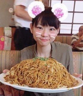 「小野かこ 大食い」の画像検索結果