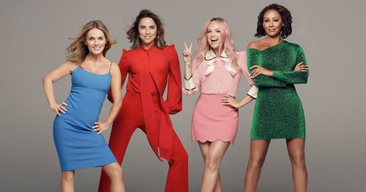 y6 5.png?resize=412,232 - The Spice Girls Gang is Back With a Bang: Emma Bunton, Mel C, Mel B, and Geri Horner Announced Six-Date UK Tour