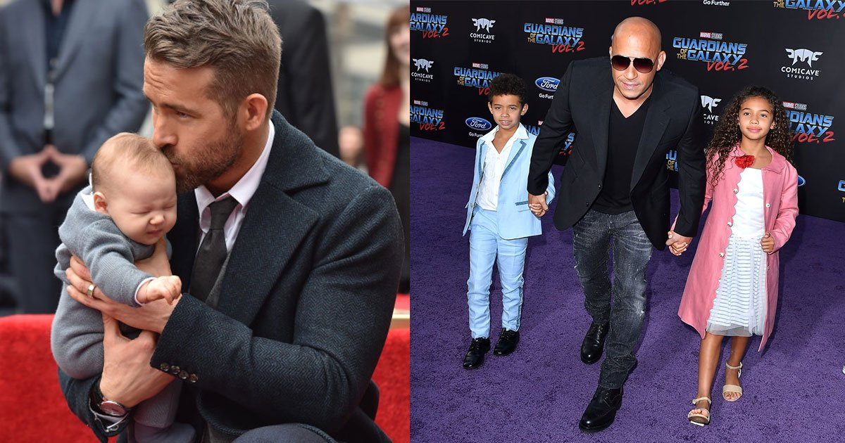 10 pictures of celebrity dads which are too adorable.jpg?resize=1200,630 - 10 Pictures Of Celebrity Dads With Their Kids That Are Too Adorable