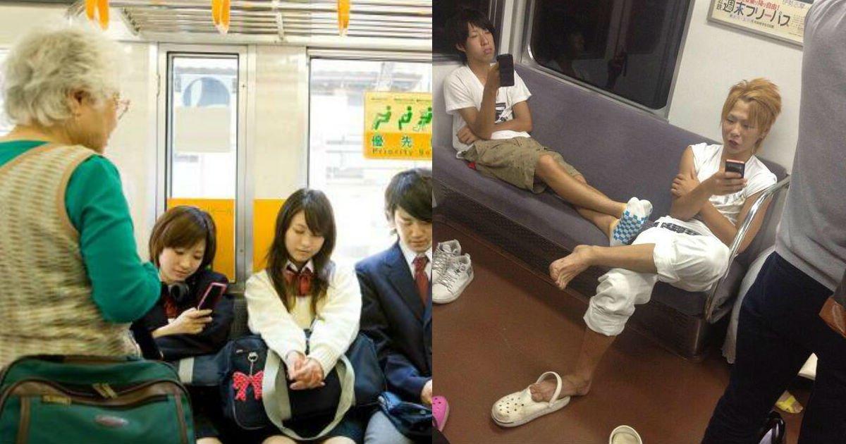 3 115.jpg?resize=1200,630 - 電車の優先席を占領するヤ〇キー…おばあちゃんのお願いに「ムリ!」と・・・