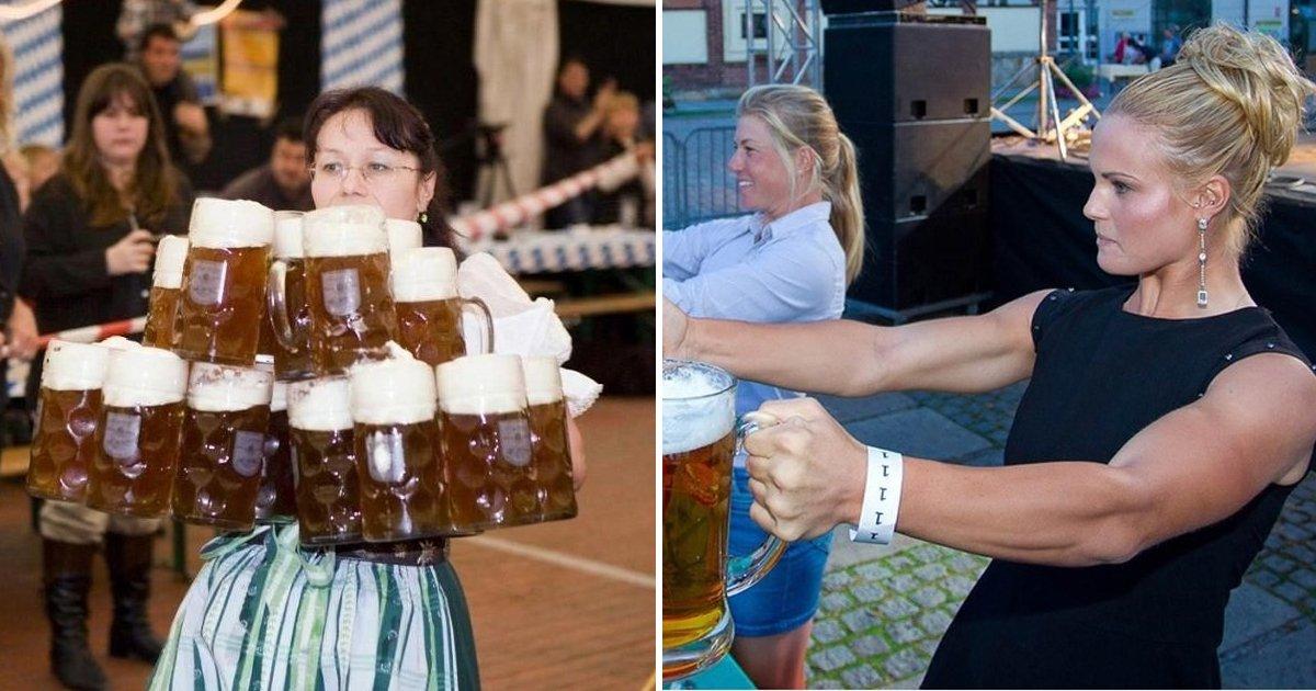 5 88.jpg?resize=412,232 - 독일 맥주 축제에서 '서빙'하는 여성들의 어마어마한 근력
