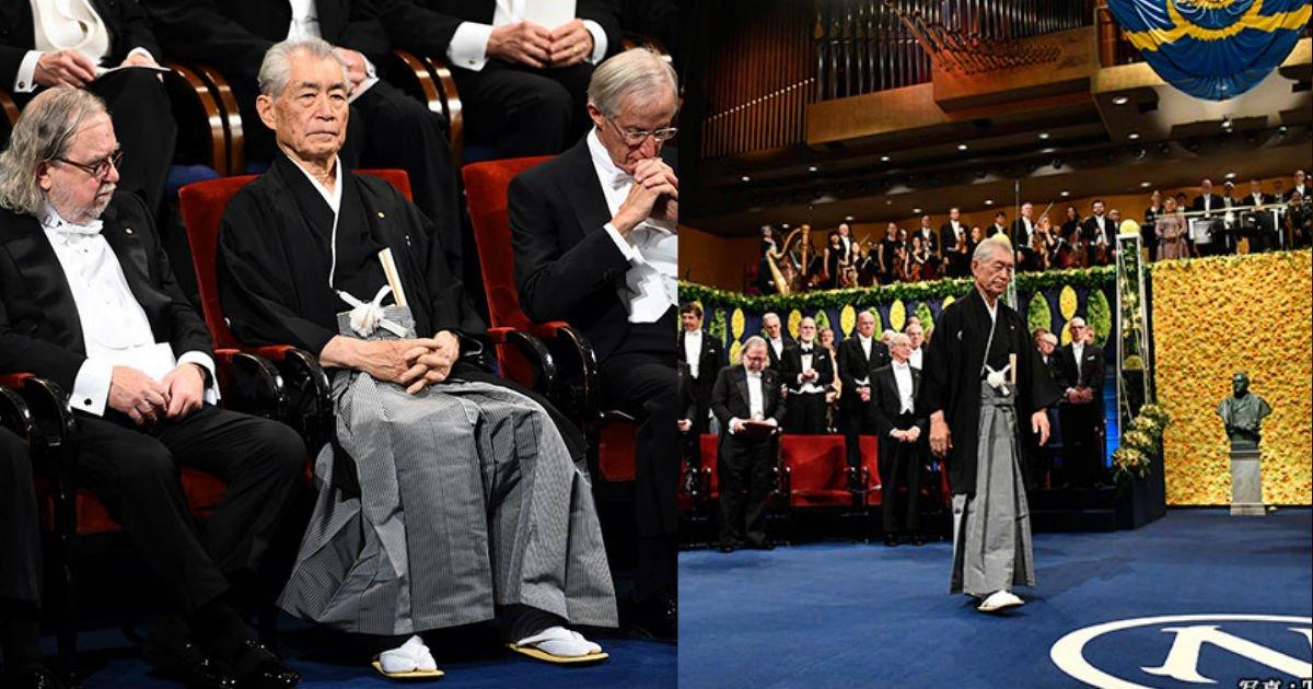 6 64.jpg?resize=412,232 - ノーベル賞の授賞式に和服で出席した本庶佑さんがカッコいい!!!