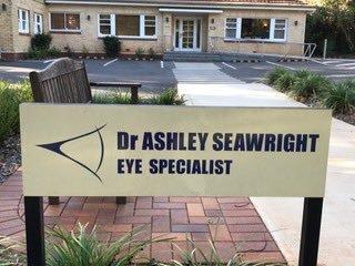 Ophthalmologist Ashley Seawright