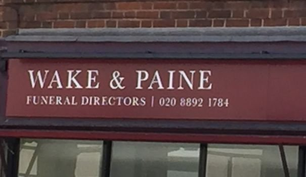 Funeral Directors Wake And Paine