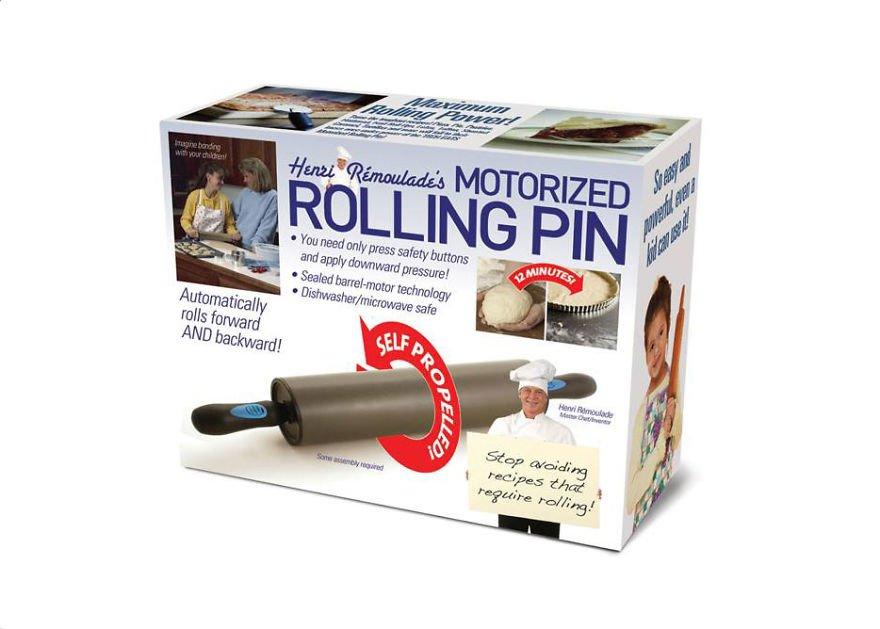 Motorized Rolling Pin