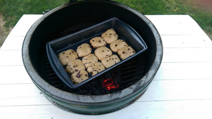 16 Funny Dads - This dad demonstrating that EVERYTHING can be grilled.