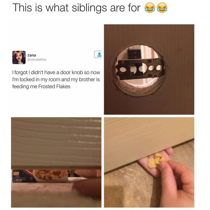 19 Photos of Growing Up With Siblings - They are always there to help when you