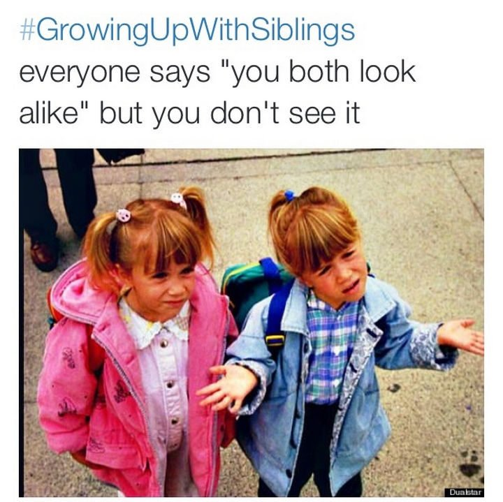 19 Photos of Growing Up With Siblings - You