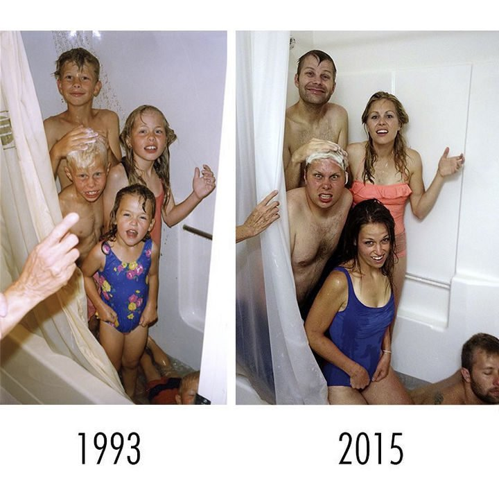 19 Photos of Growing Up With Siblings - Families grow up but don