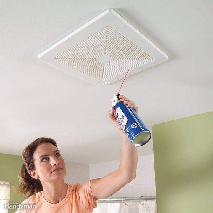 35 House Cleaning Tips - Cleaning your exhaust fan.