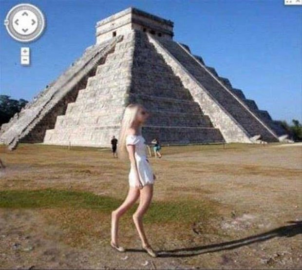 25 Weird Things Found on Google Maps - I certainly hope that image is just a glitch in Google Maps.