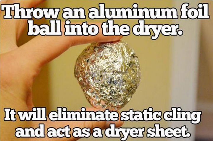 26 Simple Life Hacks - Dryer sheets are so expensive. I gotta try this!