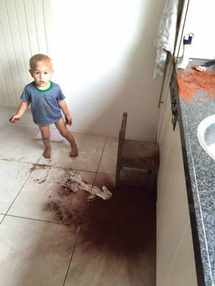 33 Reasons to Be Happy If You Are Not a Parent - Your floors will stay clean.