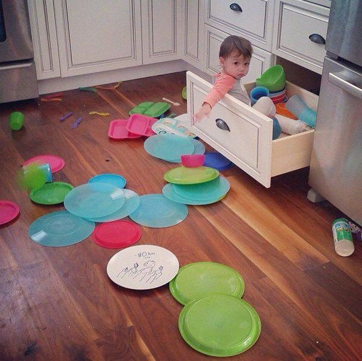 33 Reasons to Be Happy If You Are Not a Parent - Home organizing will be much simpler.