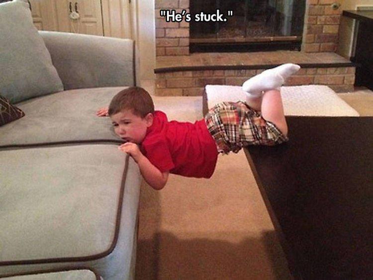 37 Photos of Kids Losing It - He