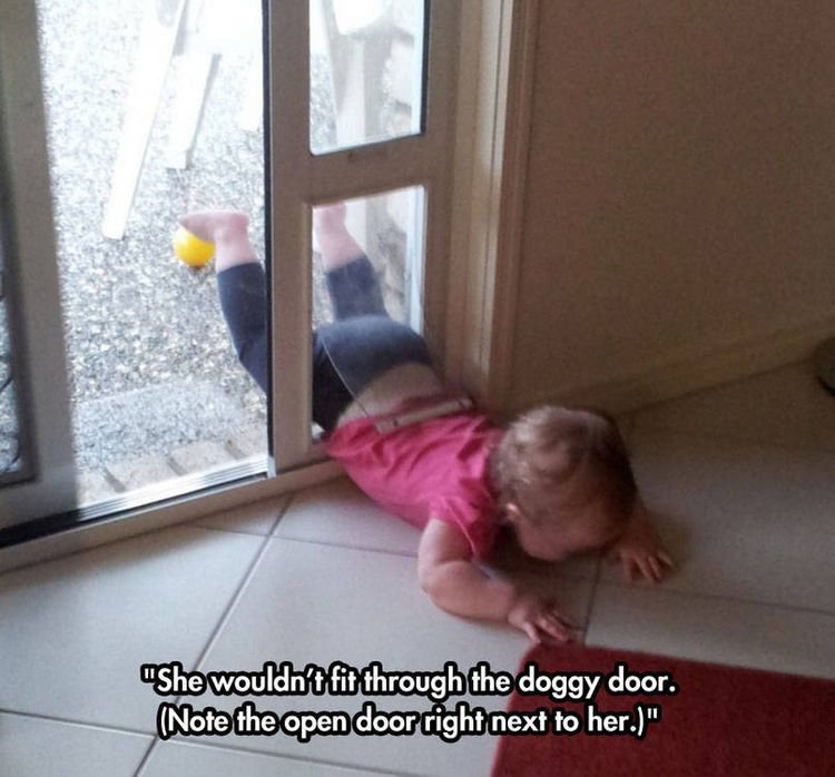 37 Photos of Kids Losing It - She wouldn