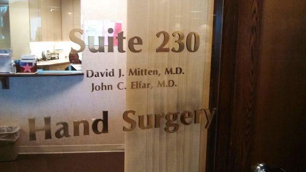 Hand Surgeon David J. Mitten