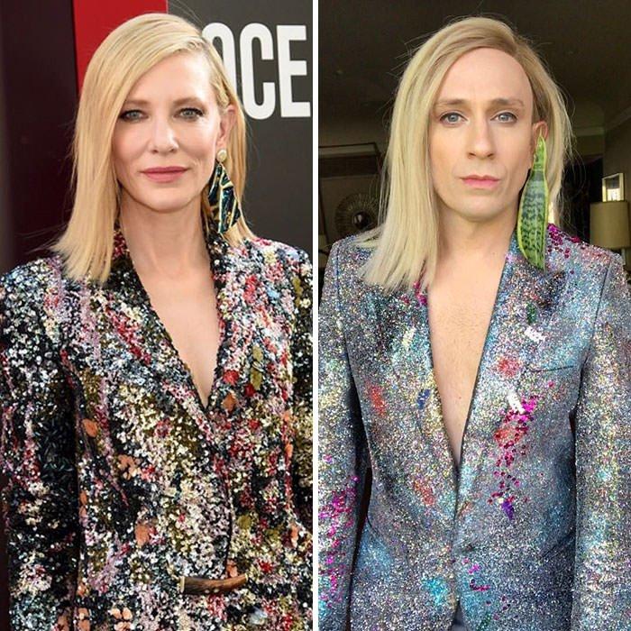 Tom Lenk As Cate Blanchett