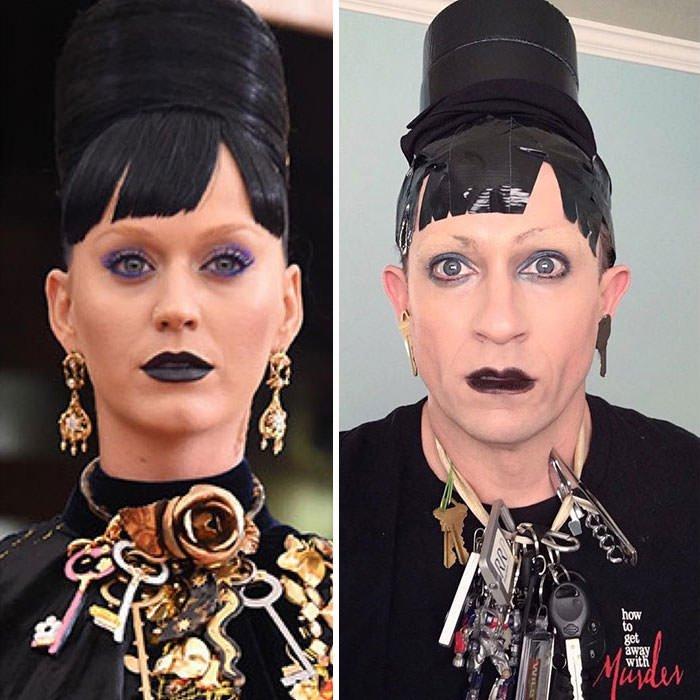 Tom Lenk As Katy Perry At Met Gala