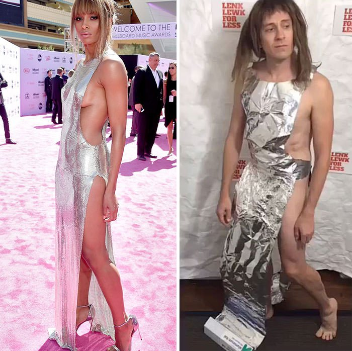 Tom Lenk As Ciara At At Billboard Music Awards