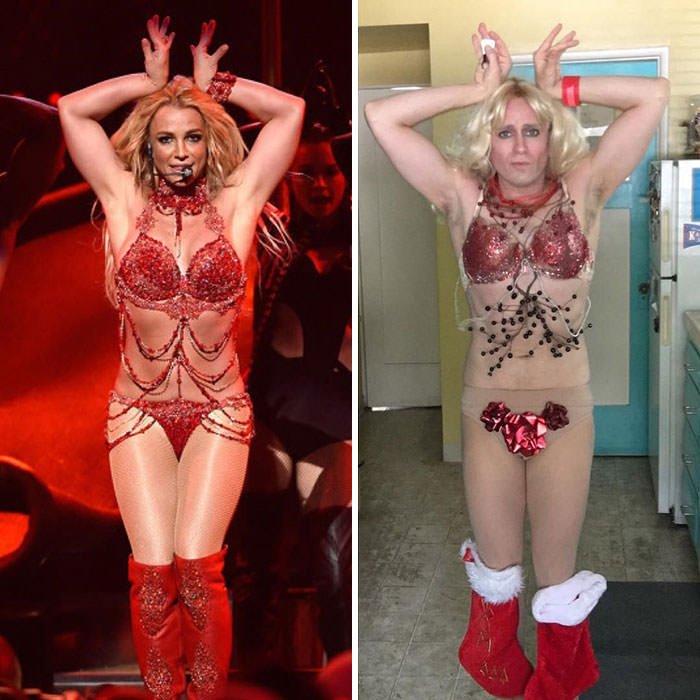Tom Lenk As Britney Spears