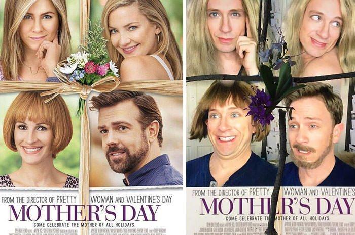 Tom Lenk As Jennifer Anniston, Julia Roberts, Kate Hudson And Jason Sudeikis On Moter