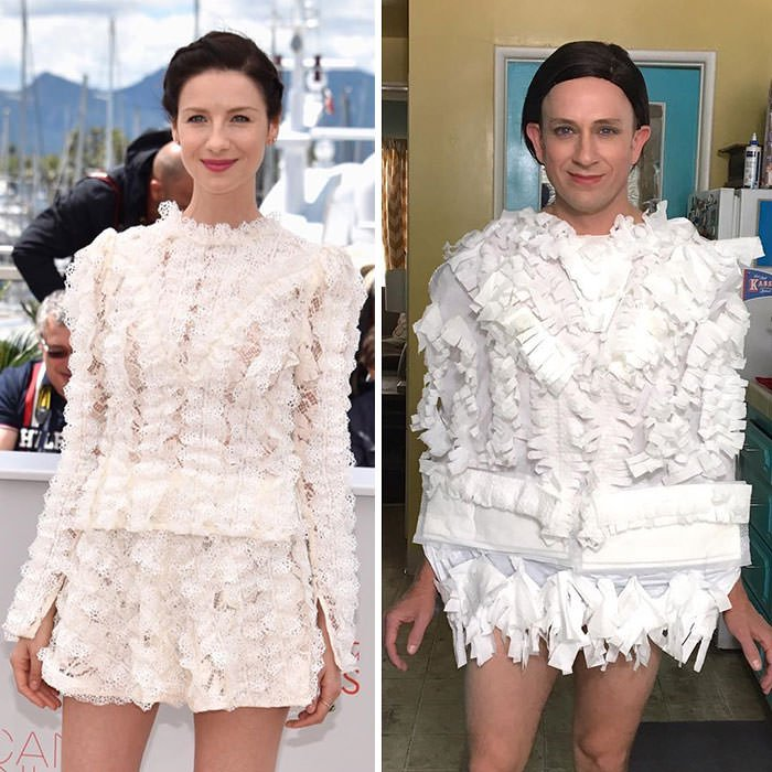 Tom Lenk As Catriona Balfe At Cannes