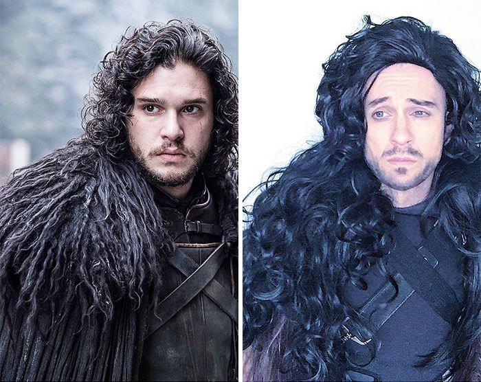 Tom Lenk As Kit Harington/ John Snow In Game Of Thrones