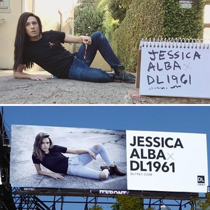 Tom Lenk As Jessica Alba For Dl1961