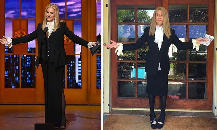 Tom Lenk As Barbra Streisand At Tony Awards