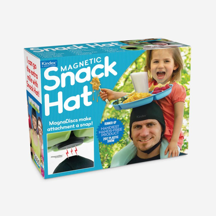 Carry Snacks On Your Head