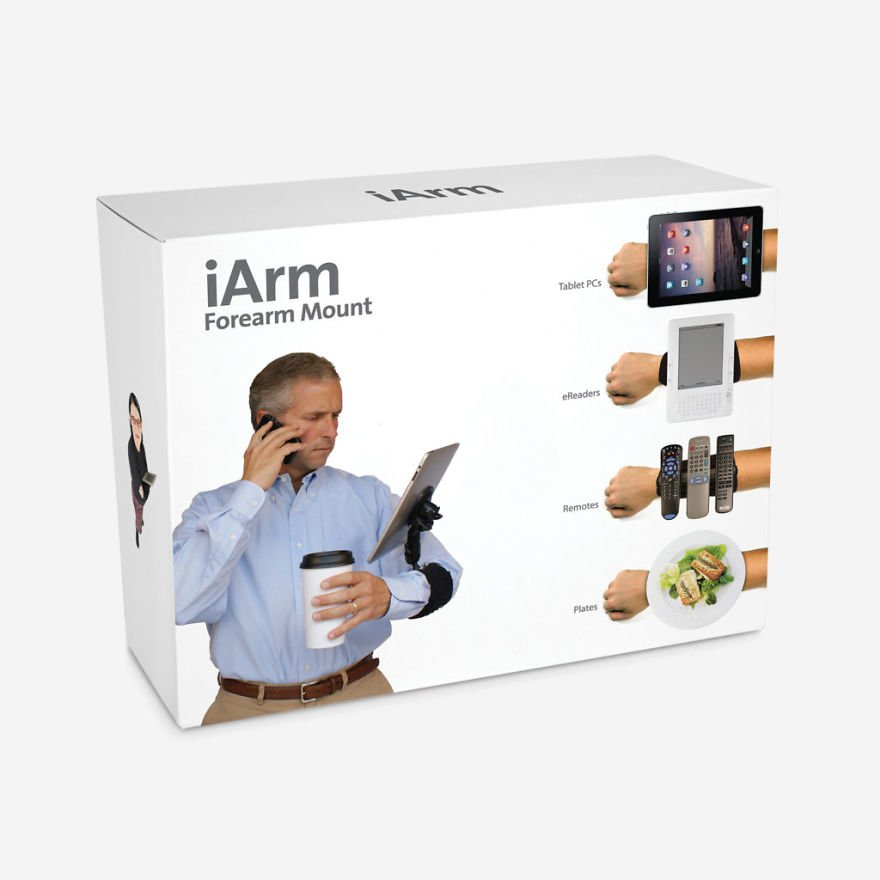 Carry Your Devices On Your Forearm