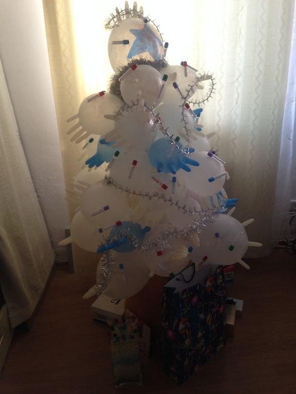 Our Medical Chrismas Tree !