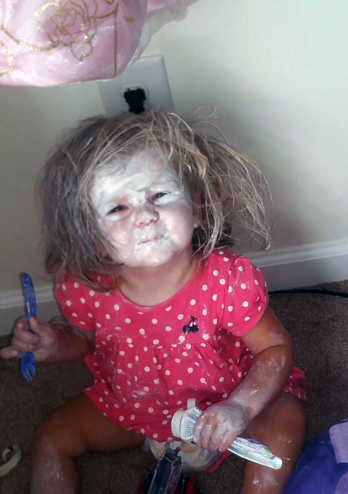 My Daughter Found The Diaper Cream