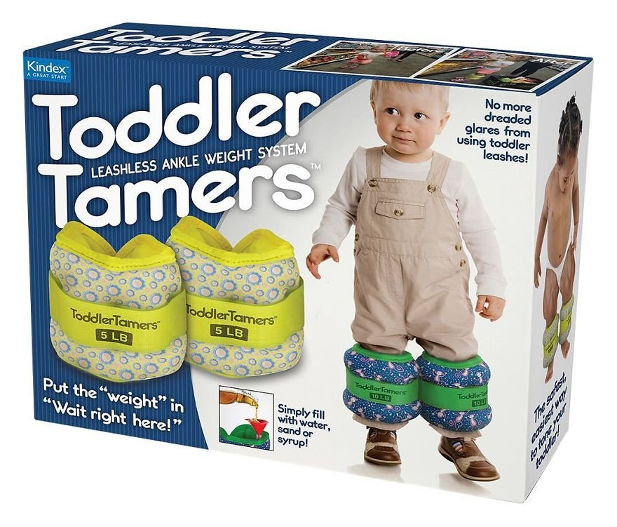 """Put The """"Weight"""" To Keep Your Toddler Still"""