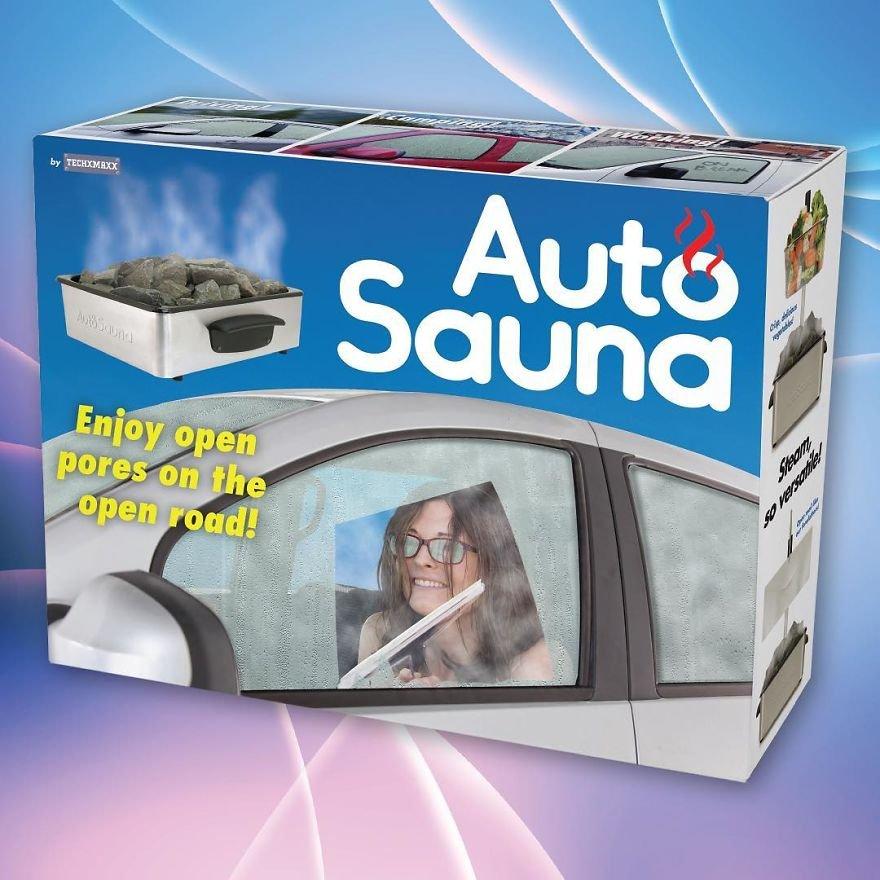 Enjoy Sauna On The Open Road