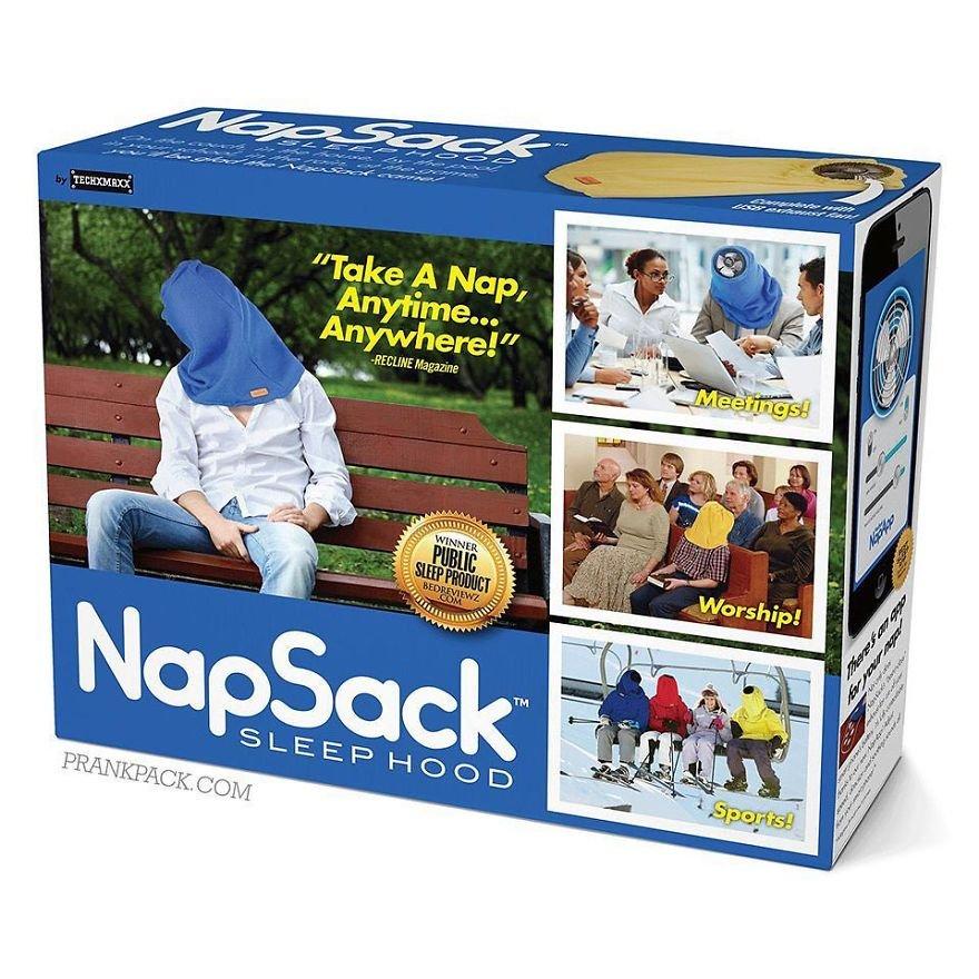 """Take A Nap, Anytime.. Anywhere!"""