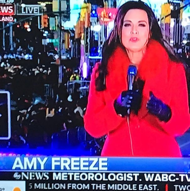 What A Name For A Weather Presenter