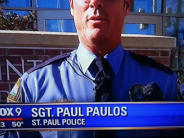 Paul Paulos From St. Paul Police