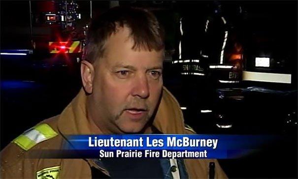 Firefighter McBurney