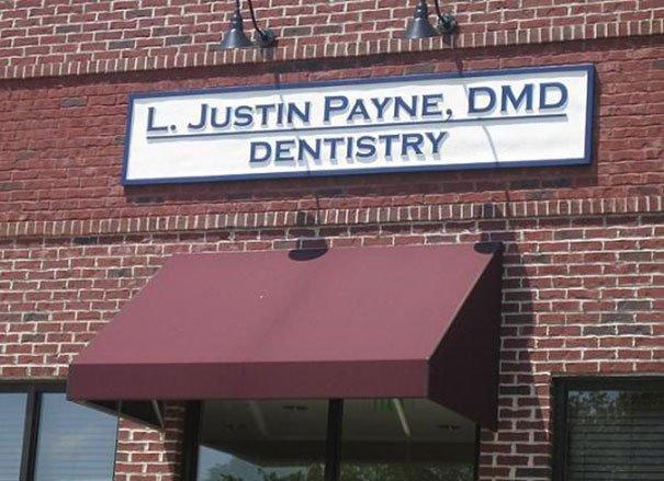 Dentist L. Justin Payne