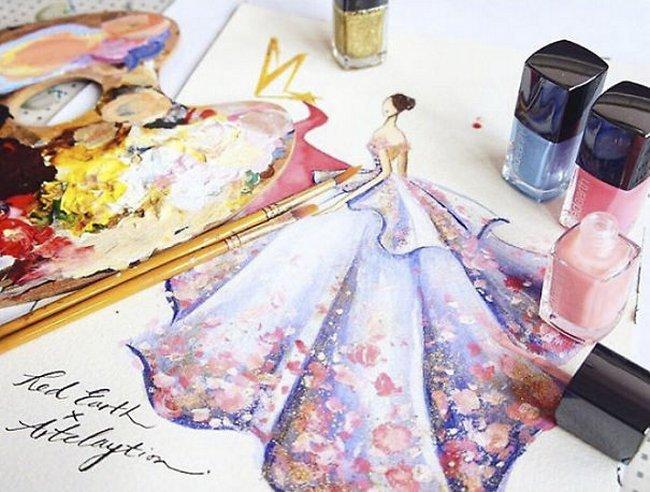 vestidos-feitos-de-esmalte-9
