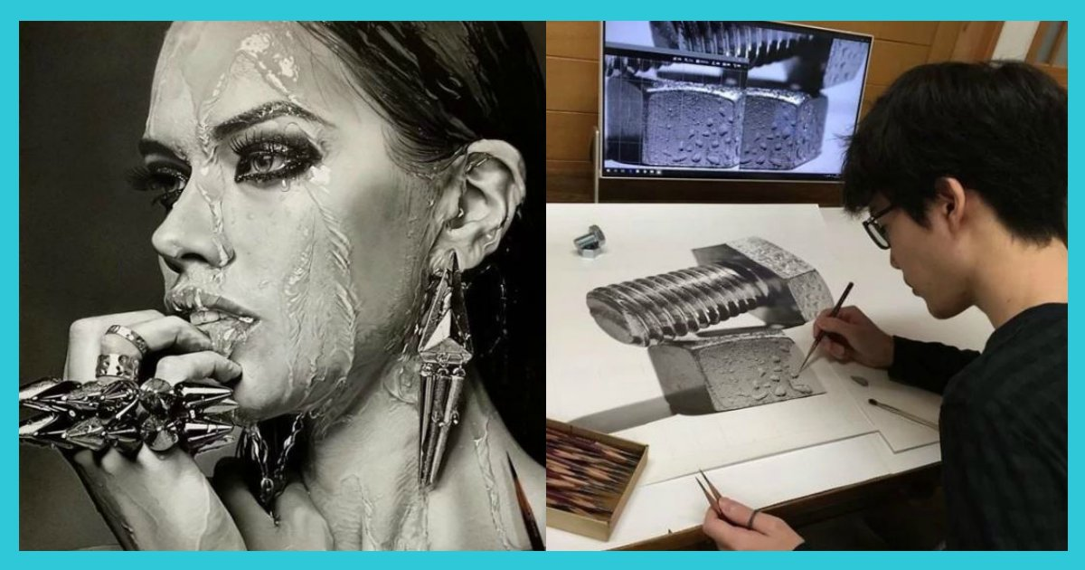 article thumbnail122602.png?resize=300,169 - '연필'로만 그렸다는 놀라운 그림들.jpg