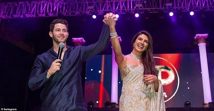 "b1 1.jpg?resize=300,169 - Traditional Hindu ""Sangeet"" Highlights The Run Up To The Wedding Of Priyanka Chopra & Nick Jonas"