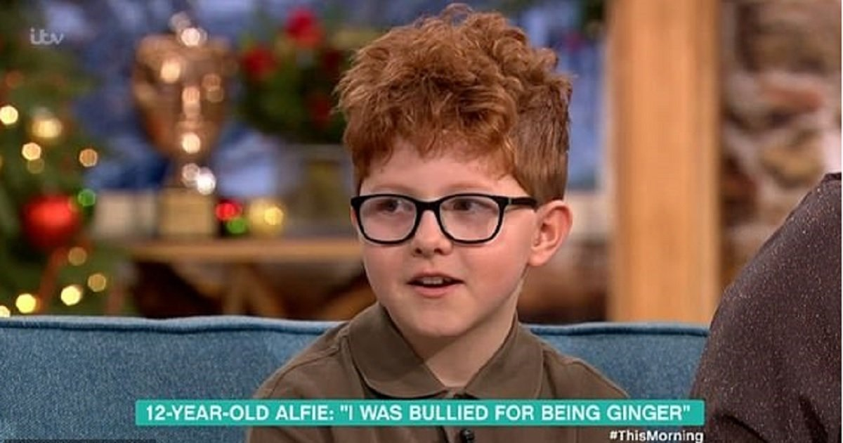 """b3 4.jpg?resize=1200,630 - Bullies Told Boy """"Being Ginger Is Worse Than Cancer,"""" He Then Wrote Them A Poem That Left People In Tears"""