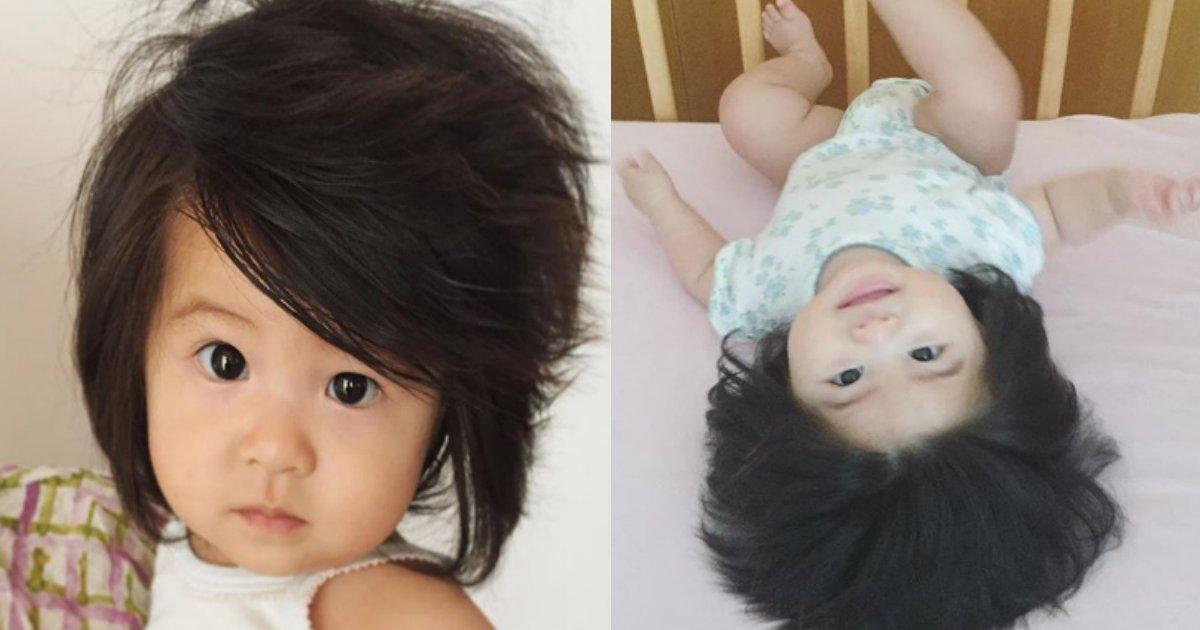 bakuge.png?resize=412,232 - 髪の量がありえないほど多いあの赤ちゃんの家ってお金持ちなの?