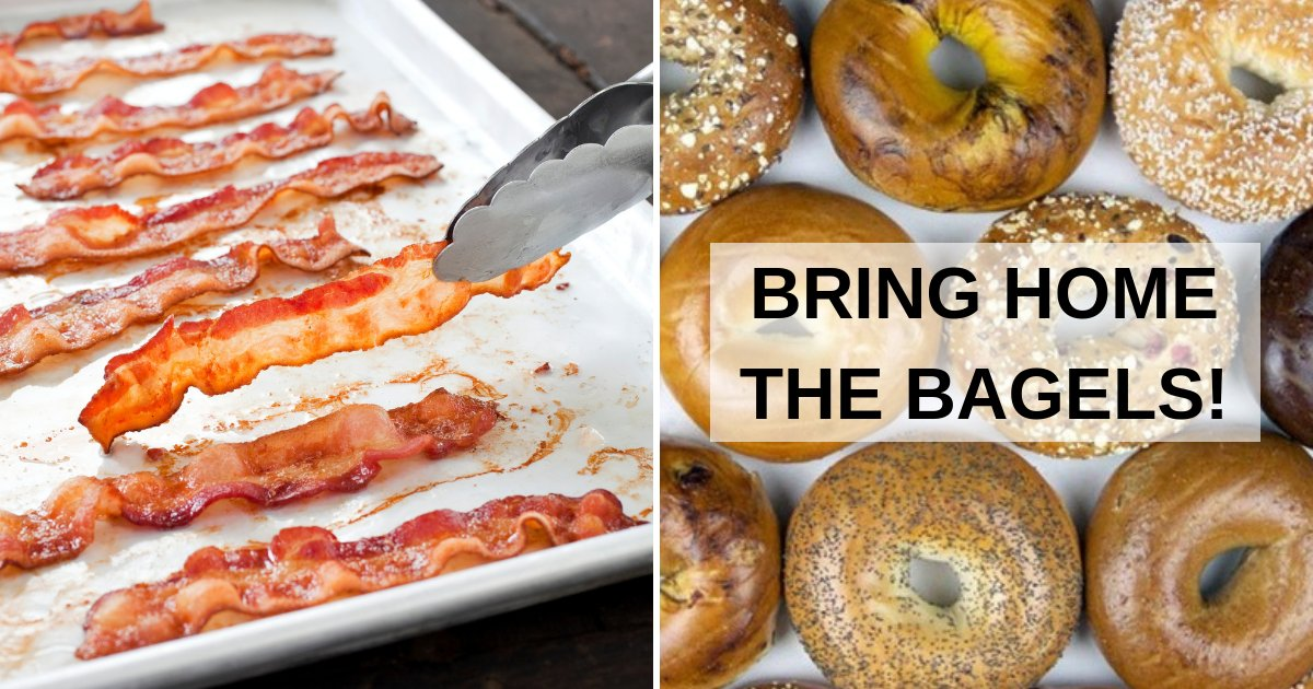 bring home the bagels 1.png?resize=412,232 - Vegan Activists Propose To Replace 'Offensive' Phrases With Vegan Sayings