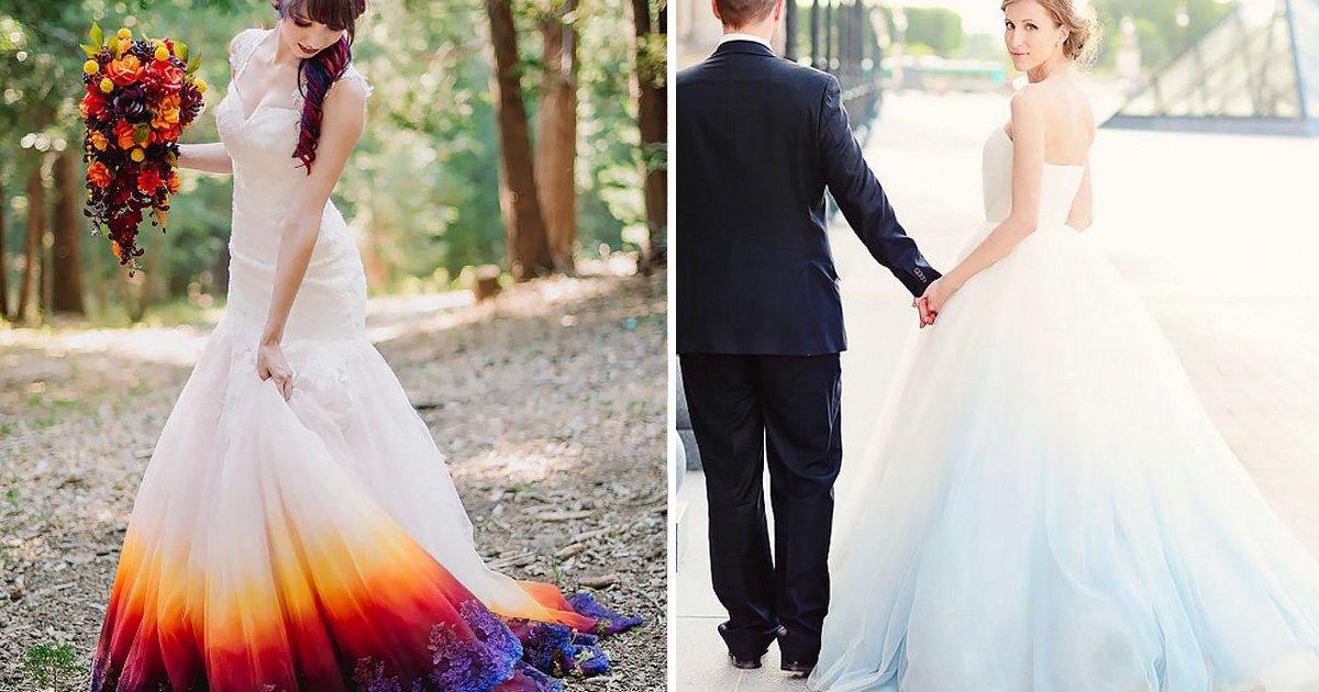 capa1 6.jpg?resize=1200,630 - 18 Noivas que aderiram ao Dip Dye para deixar seus casamentos muito mais coloridos e diferentes