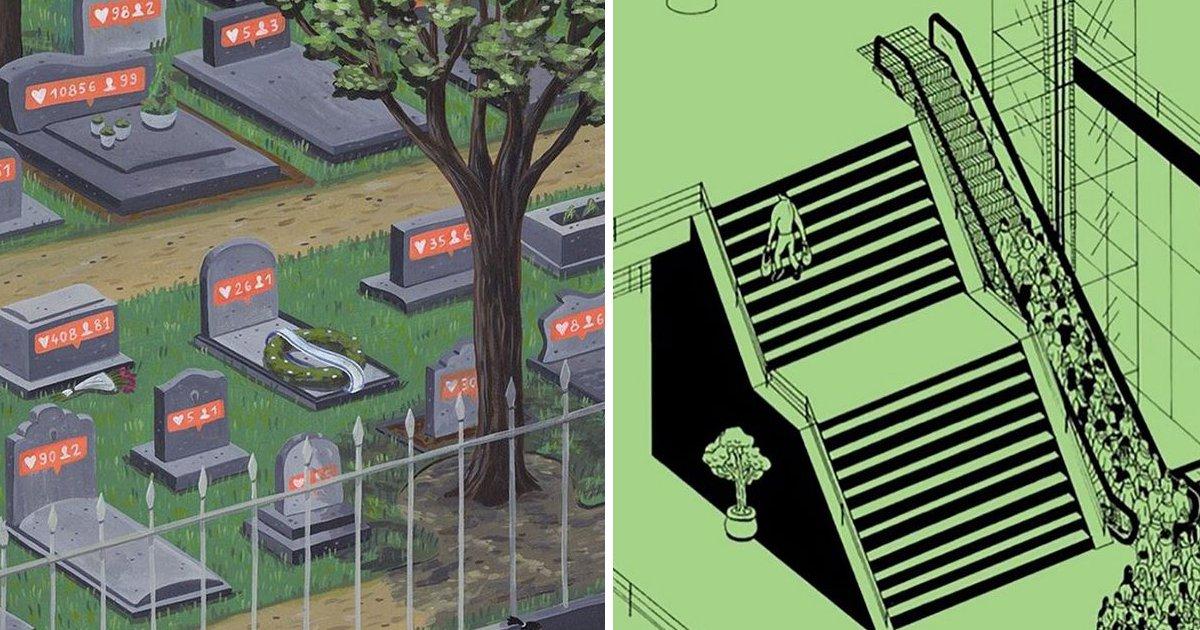 capa4 5.jpg?resize=412,232 - 19 Ilustrações honestas que nos fazem refletir sobre a sociedade moderna