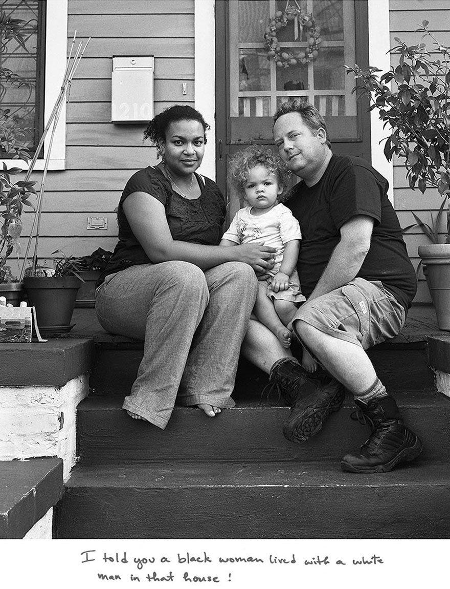 couple interracial 15.jpg?resize=412,232 - Il publie le portrait de 15 couples mixtes accompagnés des remarques racistes qu'ils ont reçus
